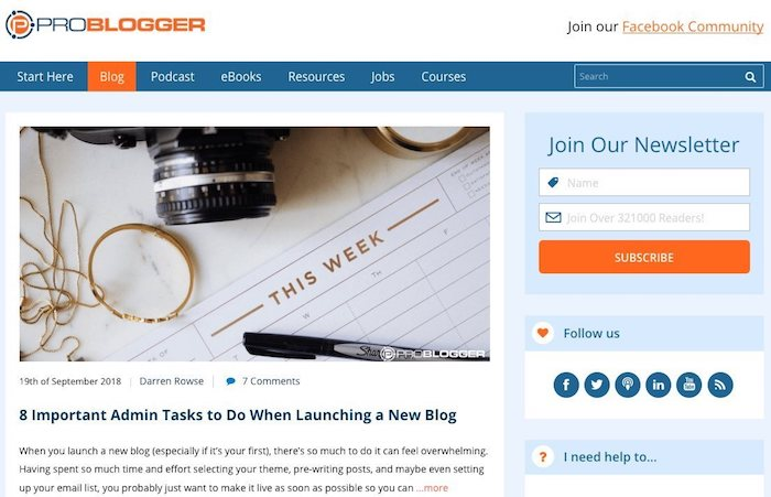 combinaison de mots dans le nom d'un blog
