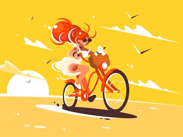 Vélo illustration