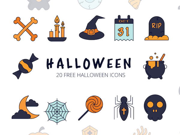 Free icons Halloween