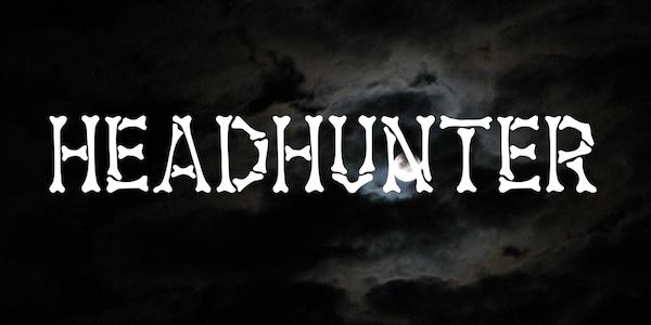 Headhunter free font