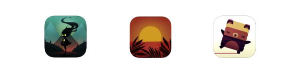 Icône app mobile couleurs