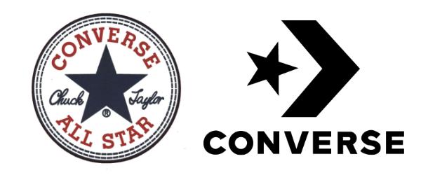 Logo converse étoile