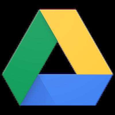 Logo triangle Google Drive