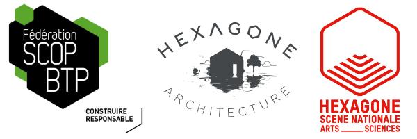 Logo hexagone BTP sciences