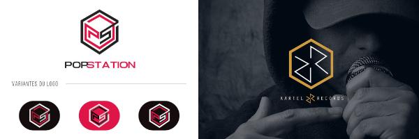 Logo hexagone Graphiste.com