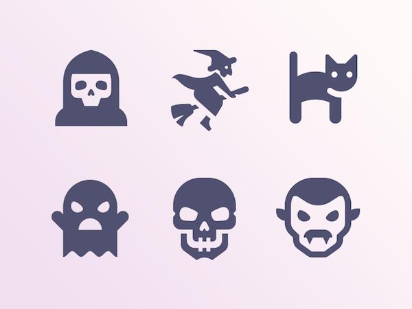 Icones halloween