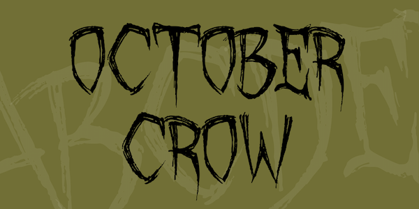 October Craw Font