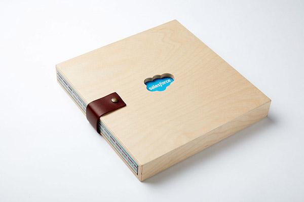 Packaging bois livre