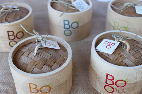 Packaging bois thé
