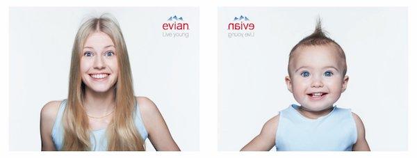 Identité de marque Evian