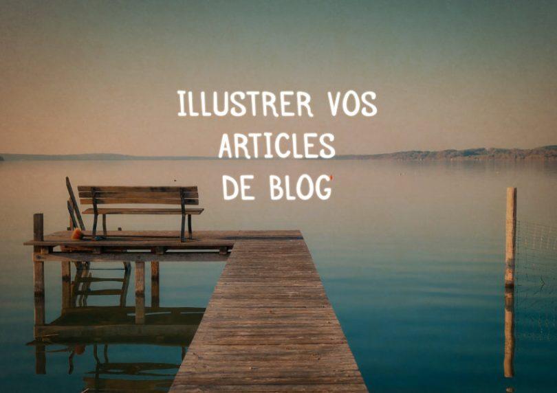 images dans un article de blog