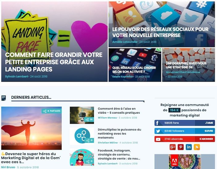 newsletter sur le marketing digital