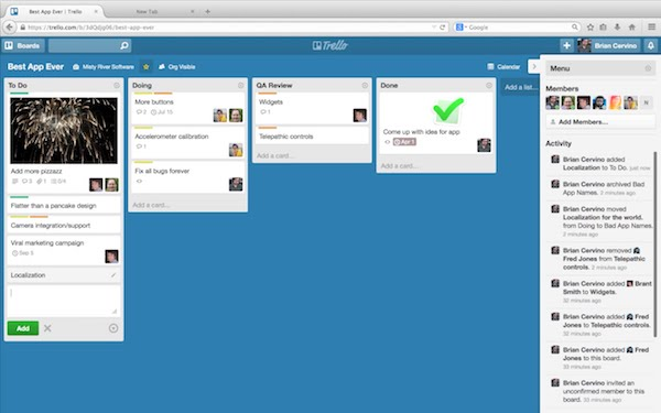 To-do-list Trello