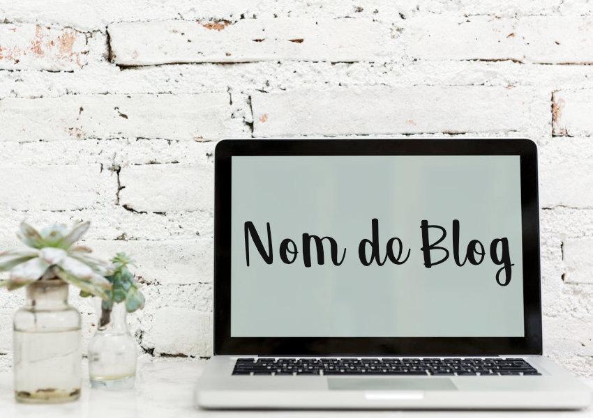 trouver un nom de blog