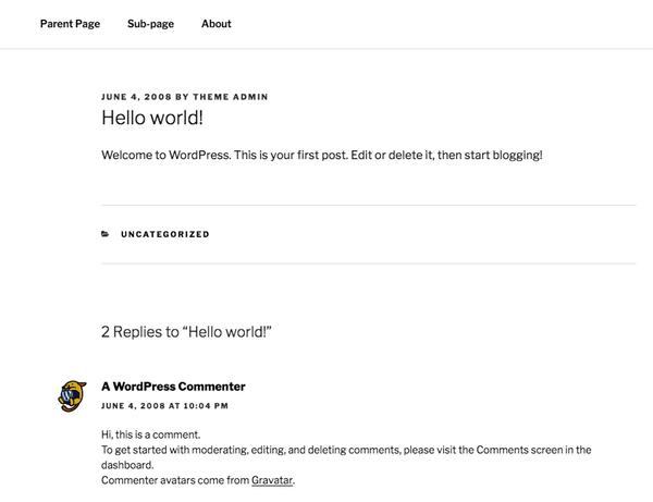 Article Hello World