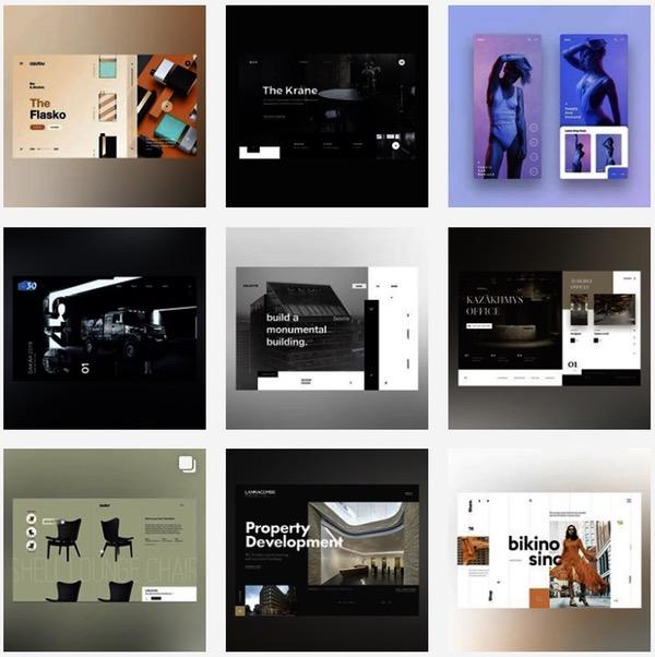 Feed Instagram Webdesign