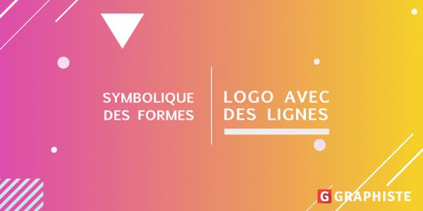 Symbolique logo lignes