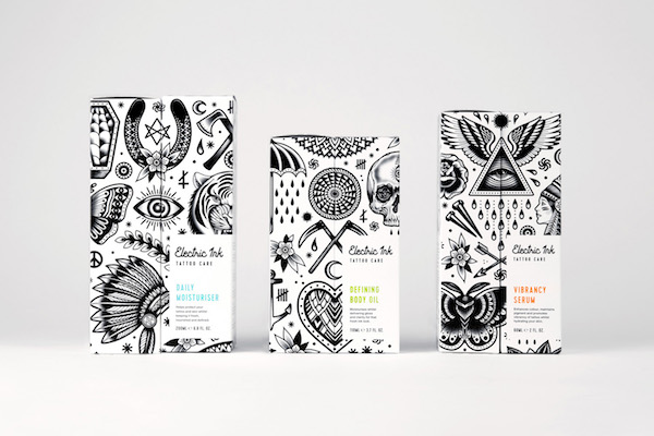 Packaging illustration