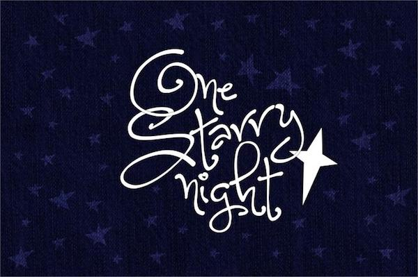 One Starry Night