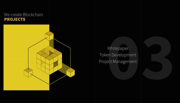 Webdesign noir et jaune