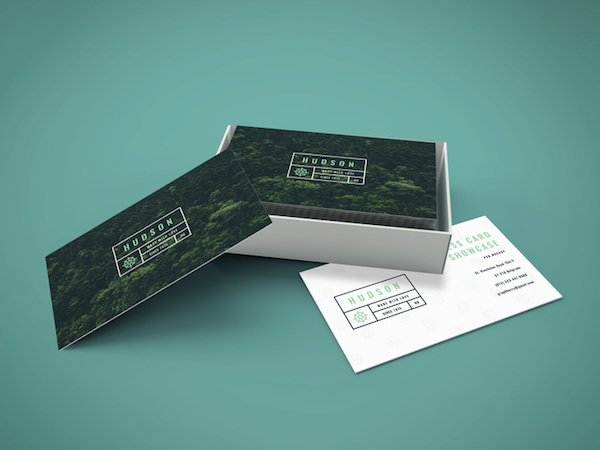 Business card mockup