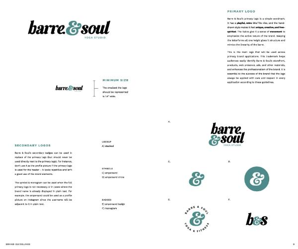 Logos primaires et secondaires