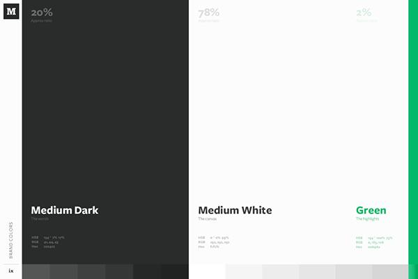 Palette couleur style guide