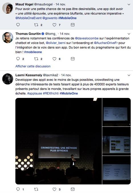 Hashtag conférence