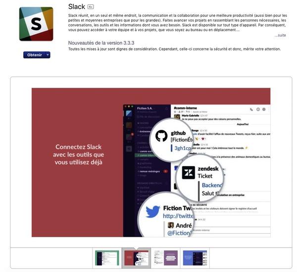 Visuels application mobile