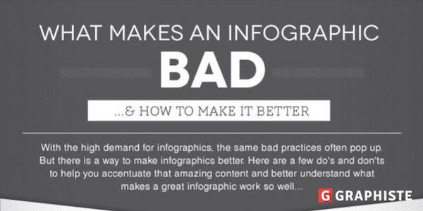 Infographie erreurs à éviter