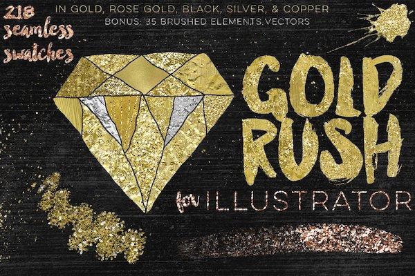 Plugin Gold Rush Illustrator