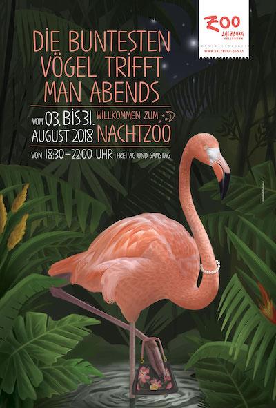 Zoo Salzburg affiche 3d