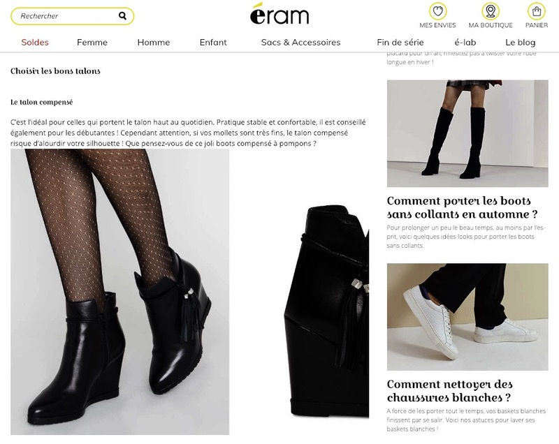Article blog e-commerce