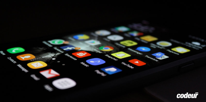 création app mobile