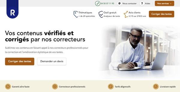Service correction de Redacteur.com