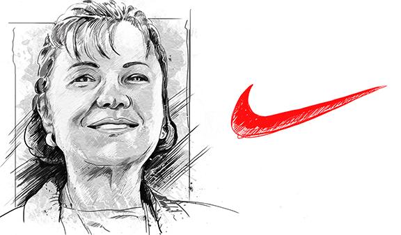 Caroline Davidson Nike