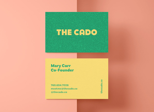 Carte de visite The Cado
