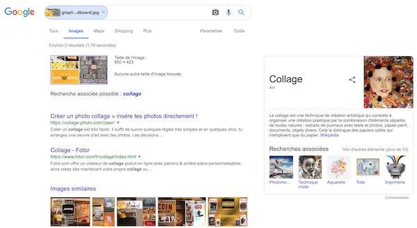 Image recherche google