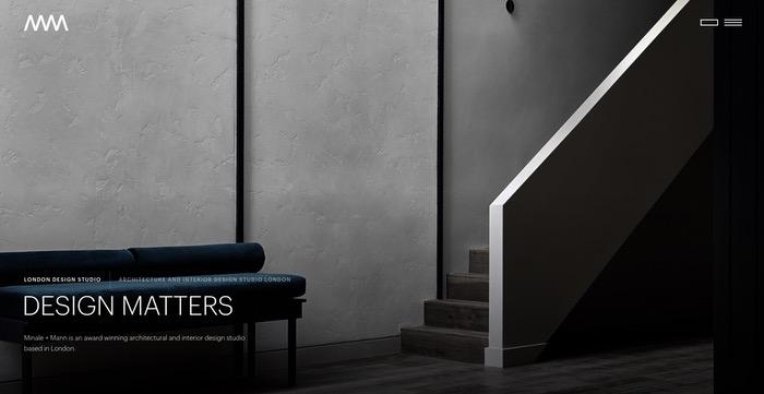 Logo site minimaliste