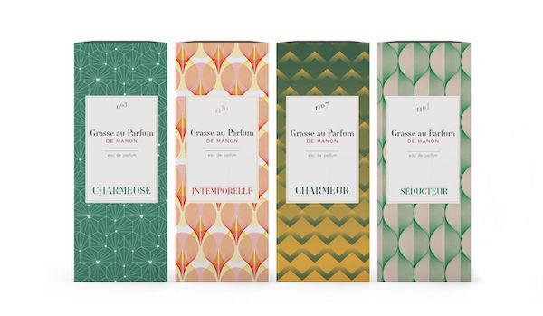 Packaging illustration parfum