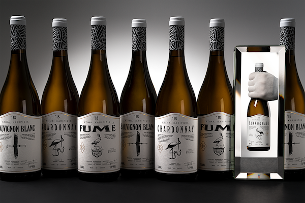 Packaging illustration vin
