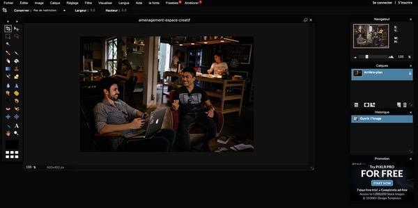Pixlr Editor gratuit
