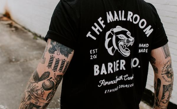 T-shirt barber