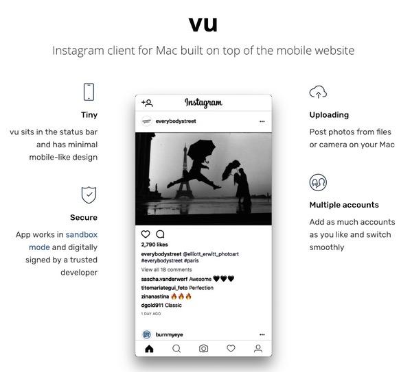 Vu Instagram App