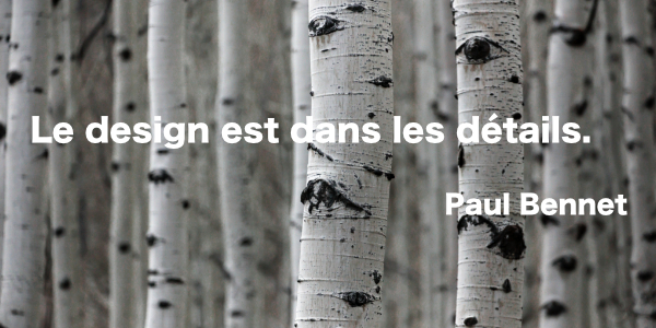 Citation Paul Bennet