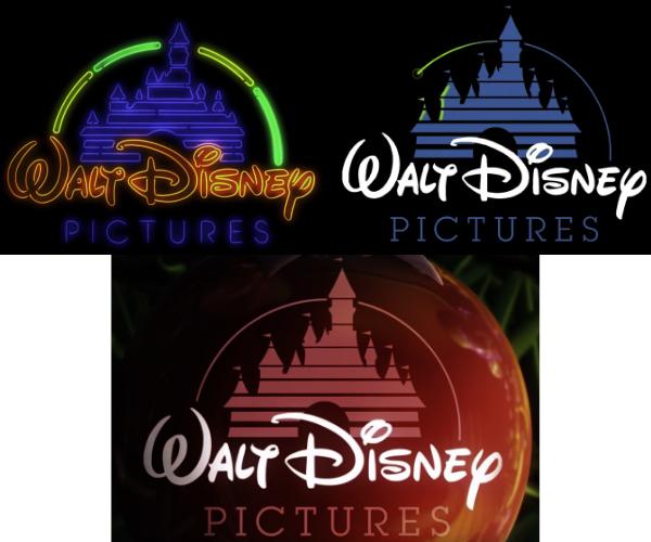 Déclinaison logo Disney