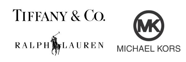Typographie logo luxe