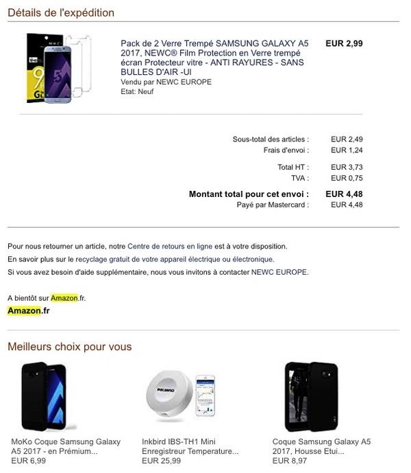 Email Amazon