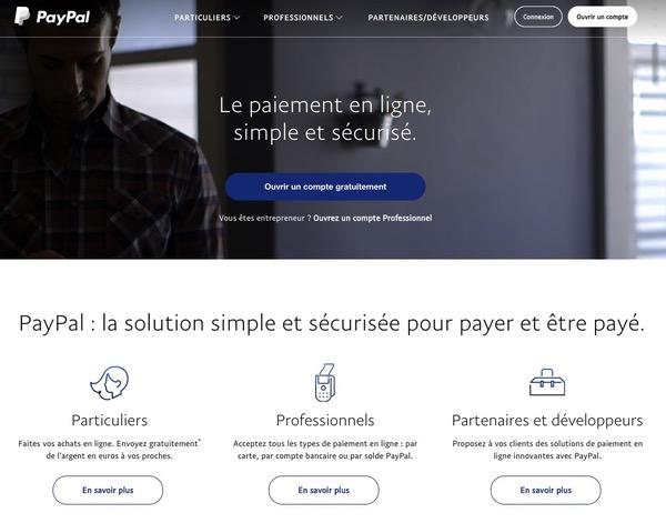 Paiement en ligne PayPal