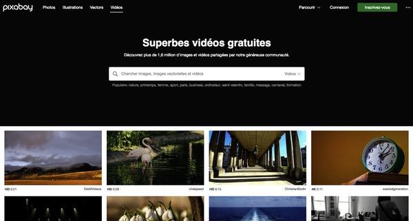 Pixabay vidéos